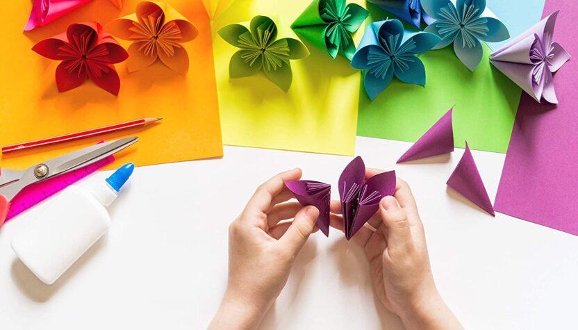 origami faciles à faire avec les enfants chez soi